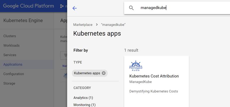 ManagedKube on the Google Cloud Platform's Marketplace